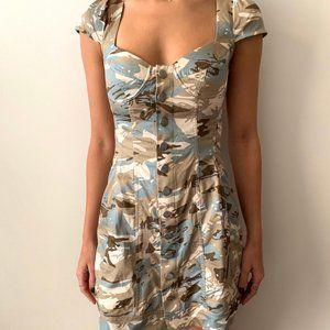 Miaou army print dress